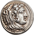 Ancients:Greek, Ancients: MACEDONIAN KINGDOM. Alexander III the Great (27mm, 17.22gm, 1h)....