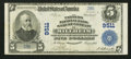 National Bank Notes:Pennsylvania, Millheim, PA - $5 1902 Plain Back Fr. 600 The Farmers NB & TCCh. # 9511. ...