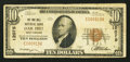National Bank Notes:West Virginia, Oak Hill, WV - $10 1929 Ty. 1 The Oak Hill NB Ch. # 12075. ...