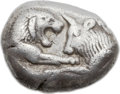 Ancients:Greek, Ancients: LYDIAN KINGDOM. Croesus (ca. 560-546 BC). AR stater ordouble siglos (19mm, 10.43 gm)....