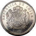 Chile, Chile: Republic silvered copper Pattern 8 Escudos 1836-IJ,...