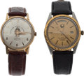 Football Collectibles:Others, 1960 and 1985 Cotton Bowl Classic Presentational Watches Lot of 2....