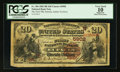 National Bank Notes:Oklahoma, Eufaula, IT - $20 1882 Brown Back Fr. 504 The First NB Ch. # (W)5902. ...