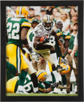 Football Collectibles:Photos, Reggie Bush Signed Photograph....