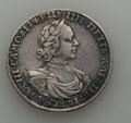 Russia, Russia: Peter I Rouble ND (1718)-OK,...