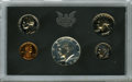 Proof Sets, 1970 10C No S Proof Set Uncertified. This complete 1970 proof set in government packaging contains an example of the elusiv... (Total: 5 coins)