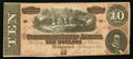 Confederate Notes:1864 Issues, T68 $10 1864 PF-15 Cr. 545.. ...