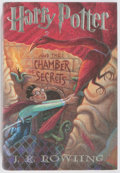 Books:Science Fiction & Fantasy, J. K. Rowling. Harry Potter and the Chamber of Secrets. New York: Scholastic, 1999. First American edition, firs...