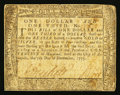 Colonial Notes:Maryland, Maryland December 7, 1775 $1 1/3 Fine.. ...