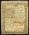 Colonial Notes:Delaware, Delaware January 1, 1776 2s 6d About New.. ...
