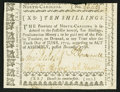 Colonial Notes:North Carolina, North Carolina December, 1768 10s Very Fine-Extremely Fine.. ...