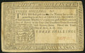 Colonial Notes:Pennsylvania, Pennsylvania April 10, 1777 3s Very Fine-Extremely Fine.. ...