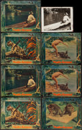 """Movie Posters:Documentary, Matto Grosso (Principal Distributing, 1933). Trimmed Lobby Cards (7) (10"""" X 12.5"""") & Photo (8"""" X 10""""). Documentary.. ... (Total: 8 Items)"""