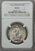 Commemorative Silver: , 1925 50C Lexington MS64 NGC. NGC Census: (1835/1093). PCGSPopulation (1807/1337). Mintage: 162,013. Numismedia Wsl. Price ...