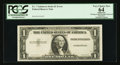 Error Notes:Missing Third Printing, Fr. ? $1 19?? Silver Certificate. PCGS Apparent Very Choice New 64.. ...