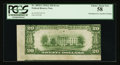 Error Notes:Skewed Reverse Printing, Fr. 2055-G $20 1934A Federal Reserve Note. PCGS Choice About New58.. ...