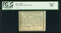 Colonial Notes:Rhode Island, Rhode Island July 2, 1780 $3 PCGS About New 53.. ...