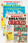 Magazines:Humor, Cracked Magazine Plus Group (All-American, 1960s-70s) Condition:Average VG+.... (Total: 10 Comic Books)