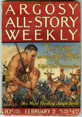 "Pulps:Adventure, Argosy-All Story Weekly Group (Munsey, 1924-38). The group includes February 2, 1924 (contains ""Tarzan and the Ant Men"" by E... (Total: 6 Comic Books)"