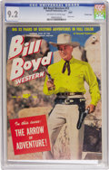 Golden Age (1938-1955):Western, Bill Boyd Western #13 Crowley Copy pedigree (Fawcett, 1951) CGC NM- 9.2 Off-white to white pages. Photo cover. Please note t...