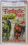 Silver Age (1956-1969):Superhero, Fantastic Four #12 (Marvel, 1963) CGC VF+ 8.5 Cream to off-whitepages. Over the years this issue's value has appreciated to...
