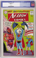 Silver Age (1956-1969):Superhero, Action Comics #330 (DC, 1965) CGC NM 9.4 White pages. Curt Swan art. Overstreet 2006 NM- 9.2 value = $85. CGC census 10/06: ...