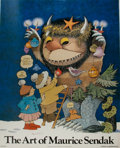 "Books:Prints & Leaves, Maurice Sendak (1928-2012), artist. SIGNED Promotional Book Posterfor The Art of Maurice Sendak, 1976. 21"" x 26..."