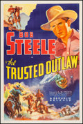 """Movie Posters:Western, The Trusted Outlaw (Republic, 1937). One Sheet (27"""" X 41""""). Western.. ..."""