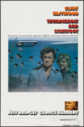 "Movie Posters:Crime, Thunderbolt and Lightfoot (United Artists, 1974). One Sheet (27"" X41"") Style B. Crime.. ..."