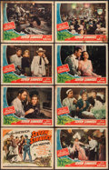 """Movie Posters:Adventure, Seven Sinners (Universal, 1940). Lobby Card Set of 8 (11"""" X 14"""").Adventure.. ... (Total: 8 Items)"""