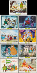 """Movie Posters:Animation, Robin Hood (Buena Vista, 1973). Lobby Card Set of 9 (11"""" X 14"""").Animation.. ... (Total: 9 Items)"""