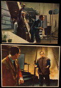 """Movie Posters:Horror, Son of Frankenstein (Universal, 1939). Trimmed Lobby Cards (2) (8.5"""" X 11.75""""). Horror.. ... (Total: 2 Items)"""
