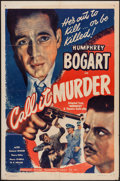 "Movie Posters:Crime, Midnight (Guaranteed Pictures, R-1947). One Sheet (27"" X 41"") &Lobby Card (11"" X 14""). Crime. Re-release Title: Call It M...(Total: 2 Items)"