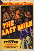 "Movie Posters:Drama, The Last Mile (Astor, R-1947). One Sheet (27"" X 41""). Drama.. ..."
