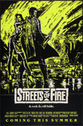 "Movie Posters:Action, Streets of Fire (Universal, 1984). One Sheet (27"" X 41"") GreenStyle Advance. Action.. ..."