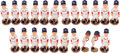 Baseball Collectibles:Others, 2004 Stan Musial Legends of the Park Bobblehead Lot of 20 & More. ...