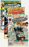 Modern Age (1980-Present):Superhero, The Amazing Spider-Man Group (Marvel, 1981-89) Condition: AverageNM-.... (Total: 27 Comic Books)