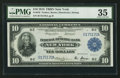 Fr. 810 $10 1918 Federal Reserve Bank Note PMG Choice Very Fine 35