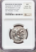Ancients:Greek, Ancients: Alexander III the Great (336-323 BC). AR tetradrachm(17.21 gm). ...