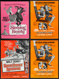 """Movie Posters:Animation, Walt Disney Pressbooks (Buena Vista, R-1968 to R-1970). Uncut Pressbooks (4) (Multiple Pages, 11"""" X 14.5""""). Animation and Co... (Total: 4 Items)"""