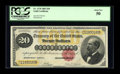 Large Size:Gold Certificates, Fr. 1178 $20 1882 Gold Certificate PCGS About New 50....