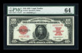 Large Size:Legal Tender Notes, Fr. 123 $10 1923 Legal Tender PMG Choice Uncirculated 64....