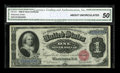 Fr. 215 $1 1886 Silver Certificate CGA About Uncirculated 50