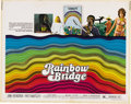 """Music Memorabilia:Posters, Jimi Hendrix """"Rainbow Bridge"""" Movie Half Sheet Poster (Transvue,1972). While this theatrical release about free-spirited h...(Total: 1 Item)"""