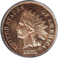 Proof Indian Cents, 1876 1C PR65 Red and Brown PCGS....