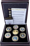Cook Islands, Cook Islands: Henry VIII and his wives 2006 7-piece set , ... (Total: 7 coins)