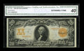 Large Size:Gold Certificates, Fr. 1185 $20 1906 Gold Certificate CGA Extremely Fine 40....