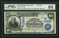 National Bank Notes:Wisconsin, Grand Rapids, WI - $10 1902 Plain Back Fr. 629 The Citizens NB Ch. # (M)10330. ...