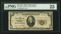 Fr. 1870-I* $20 1929 Federal Reserve Bank Note. PMG Very Fine 25