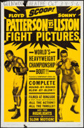 "Movie Posters:Sports, Patterson vs. Liston (Allied Artists, 1962). One Sheet (27"" X 41""). Sports.. ..."